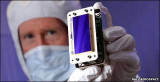 Sensor digigal CCD (Foto: Ball Aerospace)