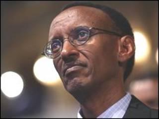 Shugaba Paul Kagame na Rwanda