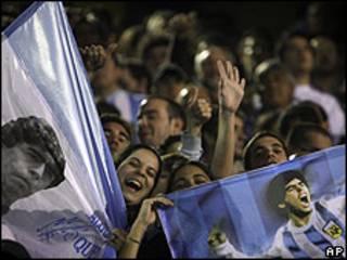 Torcedores argentinos