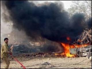 लाहौर में हुआ हमला