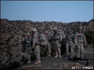 Pasukan asing di Afghanistan