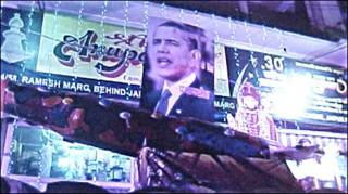 ओबामा जयपुर की दिवाली झांकी में