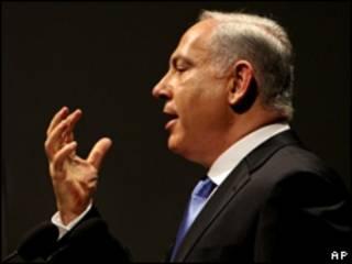 o premiê israelense, Benjamin Netanyahu