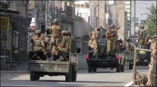 पाकिस्तानी सेना चरमपंथियों के ख़िलाफ़ अभियान चलाती रही है