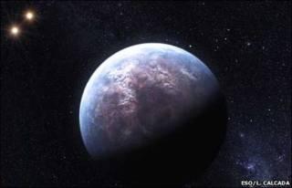 Desenho de Gliese 667C