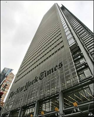 Sede en Nueva York del The New York Times