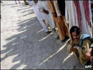 Ofensiva está provocando êxodo de civis na região