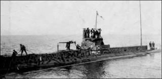 O submarino HMS E18 (Foto: Royal Navy Submarine Museum)