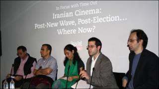نشست سینمای ایران در لندن- عکس از پرویز جاهد