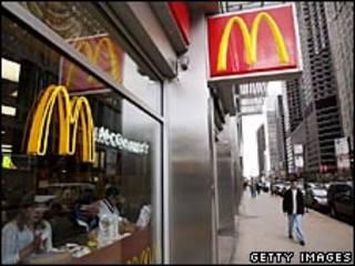 McDonalds em Chicago. Foto Getty Images