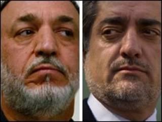 عبدالله و کرزی