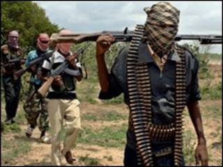 Militantes do Al-Shabab na Somália (foto de arquivo)