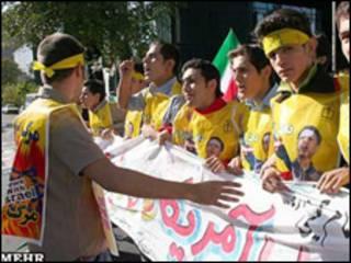 تظاهرکنندگان 13 آبان