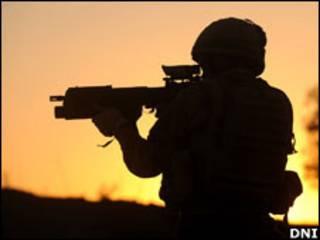 अफ़ग़ानिस्तान में सैनिक (फाइल)