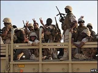 جنود سعودية