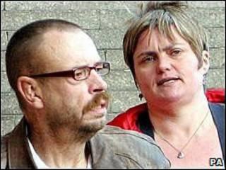 Steve e Caroline Cartwright