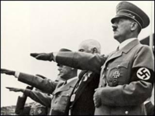 纳粹德国元首阿道夫·希特勒