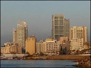Beyrut'tan bir görünüm