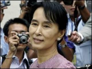 Bà Sann Suu Kyi, lãnh tụ vì dân chủ của Miến Điện