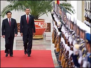 امریکا و چین رهبرلری
