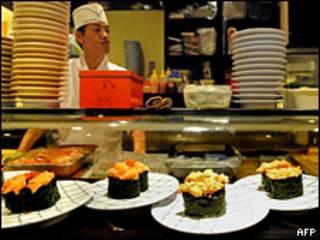 Ресторан в Токио (архивное фото)