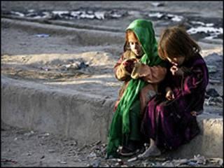 کابل کے بچے: فائل فوٹو