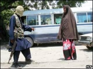 Боевики в Сомали