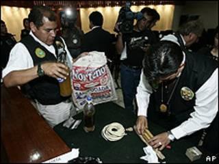 Перуанские полицейские