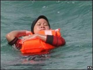 Затонувший паром