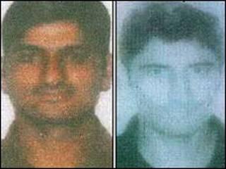 मुंबई पुलिस की ओर से जारी हमलवारों की तस्वीरें