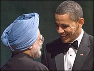 मनमोहन सिंह और बराक ओबामा