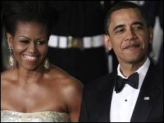 बराक ओबामा और मिशेल ओबामा