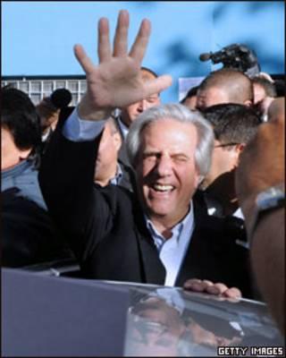 O presidente do Uruguai, Tabaré Vázquez (foto de arquivo)