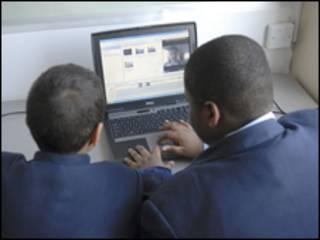 Дети у компьютера
