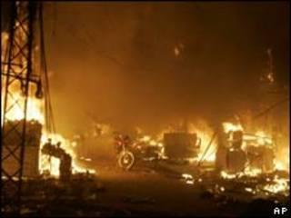 Взрывы в Лахоре