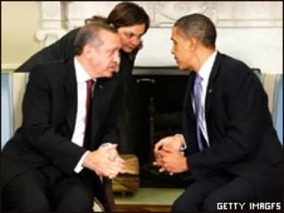 اوباما و اردوغان در کاخ سفید