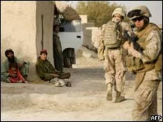 अफ़ग़ानिस्तान में अमरीकी सैनिक