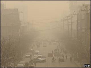 Linfen, na China