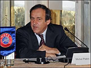 Shugaban Hukumar UEFA Michel Platini
