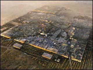 مدينة مصدر الخالية من الكاربون في أبوظبي