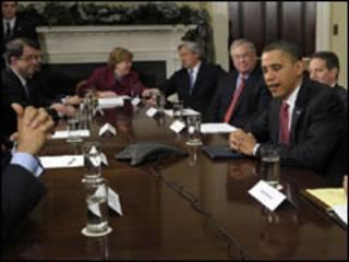 اوباما والمصرفيين
