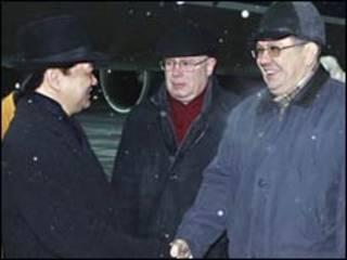 Thủ tướng Nguyễn Tấn Dũng đến Moscow