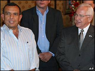Porfírio Lobo (esquerda) e Roberto Micheletti