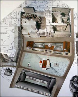 макет Контрактової площі
