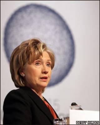 Hillary Clinton em Copenhague