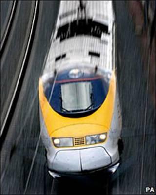यूरोस्टार ट्रेन