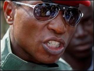 قائد المجلس العسكري في غينيا، الكابتن موسى كمارا