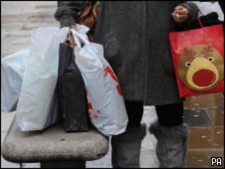 Рождественский шоппинг на Оксфорд стрит