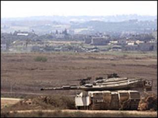 تانک اسرائیلی در غزه