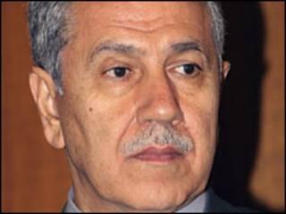 Phó Thủ tướng Bulent Arinc
